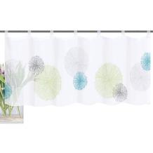 Home Wohnideen Cafehaus Voile Digitaldruck Rawlins Grün-blau 45 x 120 cm