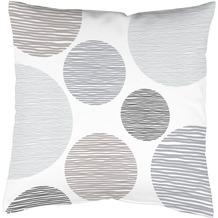 Home Wohnideen Kissenhülle Digitaldruck Borden Grau 40 x 40 cm