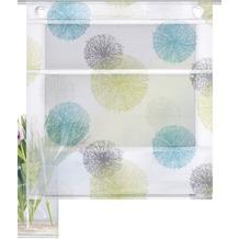 "Home Wohnideen Magnetrollo Bambusoptik ""rawlins"" Blau Grün 130 x 100 cm"