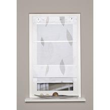"""Home Wohnideen Magnetrollo Querstreifen Digitaldruck """"paolo"""" Stein 130 x 100 cm"""