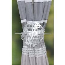 Home Wohnideen Raffhalter Aus Metall - Abstrakt Silber 18 cm