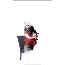 Home Wohnideen Schiebevorhang Dekostoff Digitaldruck Akida Rot 245 x 60 cm