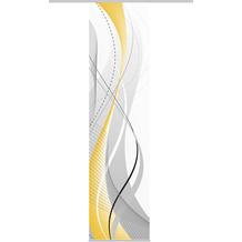 Home Wohnideen Schiebevorhang Dekostoff Digitaldruck Carlisle Gelb 245 x 60 cm