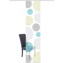 """Home Wohnideen Schiebevorhang Digitaldruck Bambus-optik """"borden"""" Blau-grün 260 x 60 cm"""