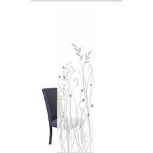 "Home Wohnideen Schiebevorhang Digitaldruck Bambus-optik ""grasil"" Grau 260 x 60 cm"