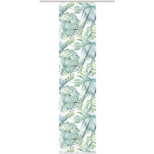 "Home Wohnideen Schiebevorhang Digitaldruck Bambus-optik ""jungle"" Grün 260 x 60 cm"