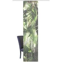 "Home Wohnideen Schiebevorhang Digitaldruck Bambus-optik ""jungola"" Grün 260 x 60 cm"
