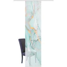 "Home Wohnideen Schiebevorhang Digitaldruck Bambus-optik ""marmosa"" Mint 260 x 60 cm"