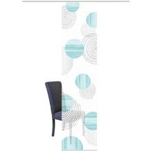 "Home Wohnideen Schiebevorhang Digitaldruck Bambus-optik ""neomi"" Mint 260 x 60 cm"