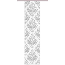 "Home Wohnideen Schiebevorhang Digitaldruck Bambus-optik ""ornama"" Grau 260 x 60 cm"