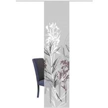 "Home Wohnideen Schiebevorhang Digitaldruck Bambus-optik ""semora"" Grau 260 x 60 cm"