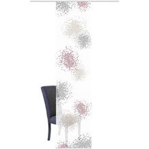 "Home Wohnideen Schiebevorhang Digitaldruck Bambus-optik ""spotti"" Beere 260 x 60 cm"