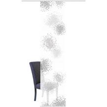 "Home Wohnideen Schiebevorhang Digitaldruck Bambus-optik ""spotti"" Grau 260 x 60 cm"