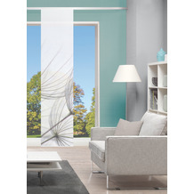 "Home Wohnideen Schiebevorhang Digitaldruck Bambus-optik ""strelia Rechts"" Grau 260 x 60 cm"