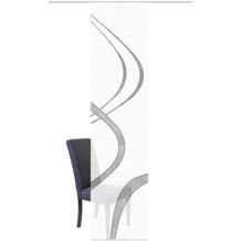 "Home Wohnideen Schiebevorhang Digitaldruck Bambus-optik ""tibano Rechts"" Grau 260 x 60 cm"