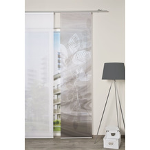 "Home Wohnideen Schiebevorhang Digitaldruck Bambus-optik ""toupillon"" Taupe 260 x 60 cm"