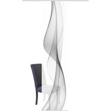"Home Wohnideen Schiebevorhang Digitaldruck Bambus-optik ""welario"" Grau 260 x 60 cm"