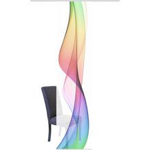 """Home Wohnideen Schiebevorhang Digitaldruck Bambus-optik """"welario"""" Multicolor 260 x 60 cm"""