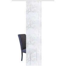 """Home Wohnideen Schiebevorhang Effektstreifen """"baum"""" Grau 245 x 60 cm"""