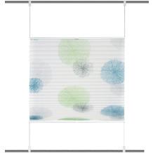 """Home Wohnideen Up & Down Plissee """"rawlins"""" Blau Grün 130 x 100 cm"""