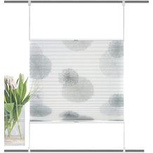 """Home Wohnideen Up & Down Plissee """"rawlins"""" Stein 130 x 100 cm"""