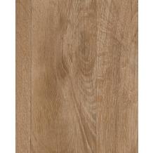 Hometrend BALADI CV Vinyl Bodenbelag, Holzoptik 2-Stab Eiche 200 cm breit