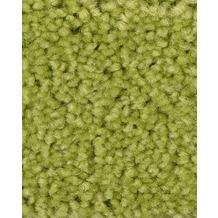 ilima Teppichboden Hochflor Velours PAMIRA/PRISCILLA gelbgrün 400 cm breit