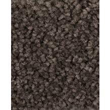 ilima Teppichboden Hochflor Velours PAMIRA/PRISCILLA graubraun 400 cm breit