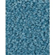 ilima Teppichboden Hochflor Velours PAMIRA/PRISCILLA himmelblau 400 cm breit