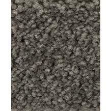 ilima Teppichboden Hochflor Velours PAMIRA/PRISCILLA schiefergrau 400 cm breit