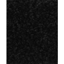ilima Teppichboden Hochflor Velours PAMIRA/PRISCILLA schwarz 400 cm breit