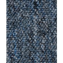 ilima Teppichboden Schlinge BARDINO/ROCKY blau meliert 400 cm breit