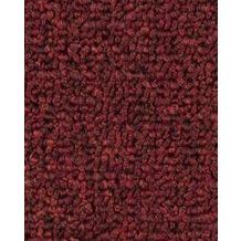 ilima Teppichboden Schlinge RAMOS/PIPPIN dunkelrot 400 cm breit