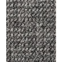 ilima Teppichboden Schlinge gemustert ANEMONE/REVUE grau 400 cm breit