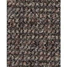 ilima Teppichboden Schlinge gemustert ANEMONE/REVUE grau/braun 400 cm breit