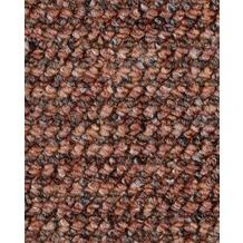 ilima Teppichboden Schlinge gemustert ANEMONE/REVUE Ziegelrot 400 cm breit