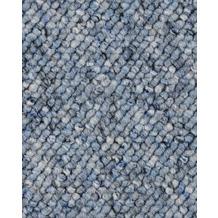 ilima Teppichboden Schlinge FLORENTINA/BUDDY hellblau 200 cm breit