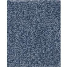 ilima Teppichboden Velours FLIRT/CABARET meliert blau 400 cm breit