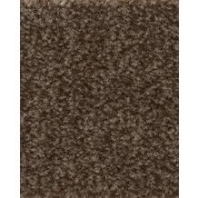 ilima Teppichboden Velours FLIRT/CABARET meliert Sepia 400 cm breit