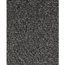 Hometrend AMBER Teppichboden, Velours meliert, anthrazit 400 cm breit