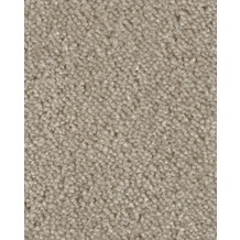 Hometrend AMBER Teppichboden, Velours meliert, beige/grau 400 cm breit