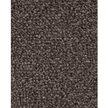 Hometrend AMBER Teppichboden, Velours meliert, dunkelbraun/grau 400 cm breit