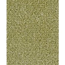 Hometrend AMBER Teppichboden, Velours meliert, gelbgrün 400 cm breit