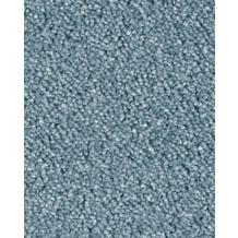 Hometrend AMBER Teppichboden, Velours meliert, himmelblau 400 cm breit