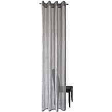 Homing Halbtransparenter Ösenschal grau, weiß 245 x 140 cm