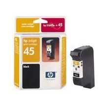 Hewlett-Packard Tintenpatrone No 45, schwarz