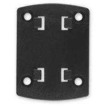 HR Auto-Comfort Adapterplatte mit HR 4-Loch-Raster-System für Brodit ProClip / Kuda Konsole