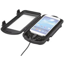 HR Auto-Comfort Spritzschutzbox Small Fahrradhalterung Universal (128 - 65 - 12mm)