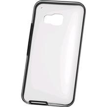 HTC Hardshell Cover HC C1153 für HTC One M9, Clear Schwarz