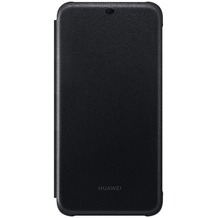 Huawei Flip Wallet Cover, Mate 20 Lite, schwarz